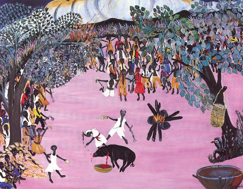 Bois-caiman-ceremony