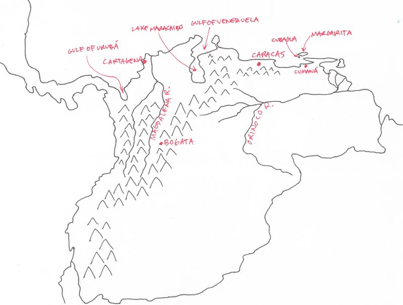 New Granada Map